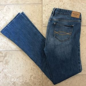 Abercrombie and Fitch Skinny Boot Jeans